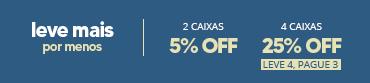 Promoção Combo Coopervision - 2cxs 5off 4cxs 25off